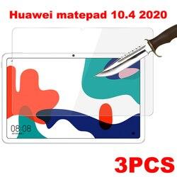 Защитное стекло, закаленное стекло для Huawei matepad 10,4 pro 10,8, 3 упаковки