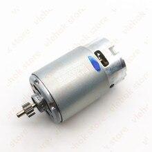 מנוע אמיתי חלקי 318244 12V 9.6V עבור HITACHI FDS12DVA FDS9DVA DS12DVF3 DS9DVF3 DS12DVFA RS 550VC 8022 מנוע