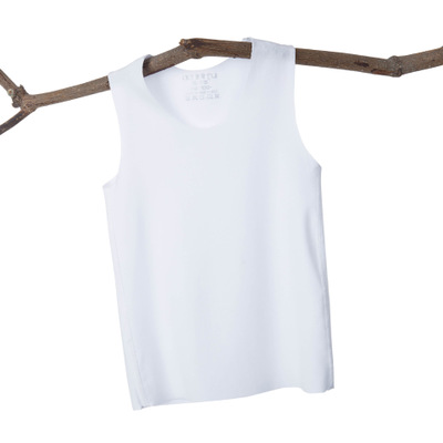 VIDMID Baby boys girls summer sleeveless t-shirt vests tops tees boys beach cotton girls kids Children's traceless vests 7128 01 6