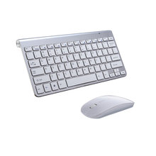 78 Keys USB Quiet Wireless Keyboard Desktops Windows Ultra Slim Laptops Thin X Architecture Android With Mouse(China)