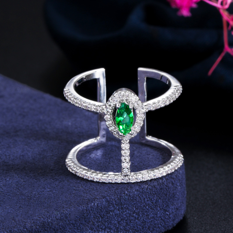 Adjustable Gorgeous Oval Ring