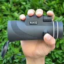 ציד 40X60 טלפון המשקפת טלסקופ נייד וידאו משקפת שדה גדול כף יד טלסקופ HD מקצועי היקף