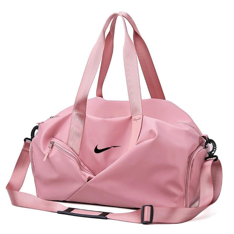 Training-Bag Luggage Travel Logo Portable Shoulder Sports-Fitness-Bag Wet-Separate Break-It