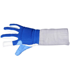 Fencing gloves slip Child Adult Foil Sabre   Epee Fencing equipment Waterproof material Non-slip palm The wrist can be resized