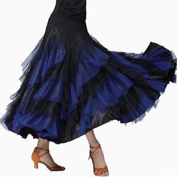 New Modern Waltz Tango Dance Skirt Women Dance Costume Ballroom Dance Competition Dresses Standard Ballroom Dance