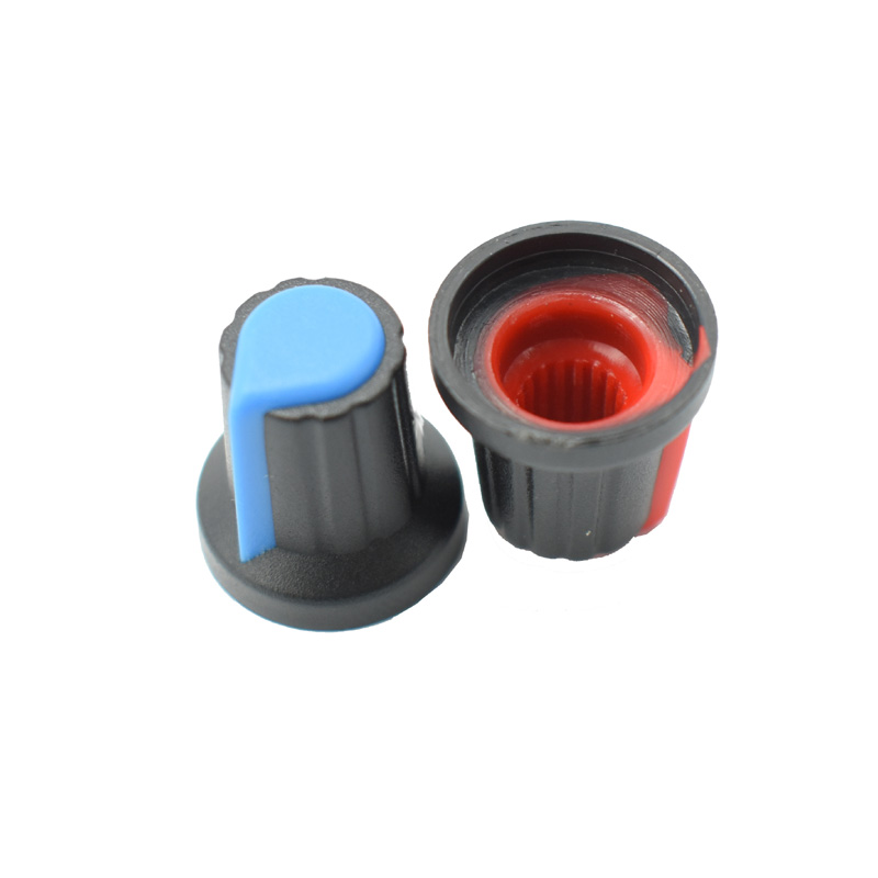 high 17mmRSAP 8Pcs potentiometer knob switch cap inside 6mm outside 15mm