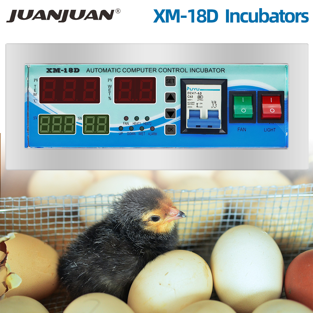 Automatic Egg Incubator Controller XM-18D/XM-18 Poultry Incubator Temperature And Humidity For Egg Hatcher System 30% Off
