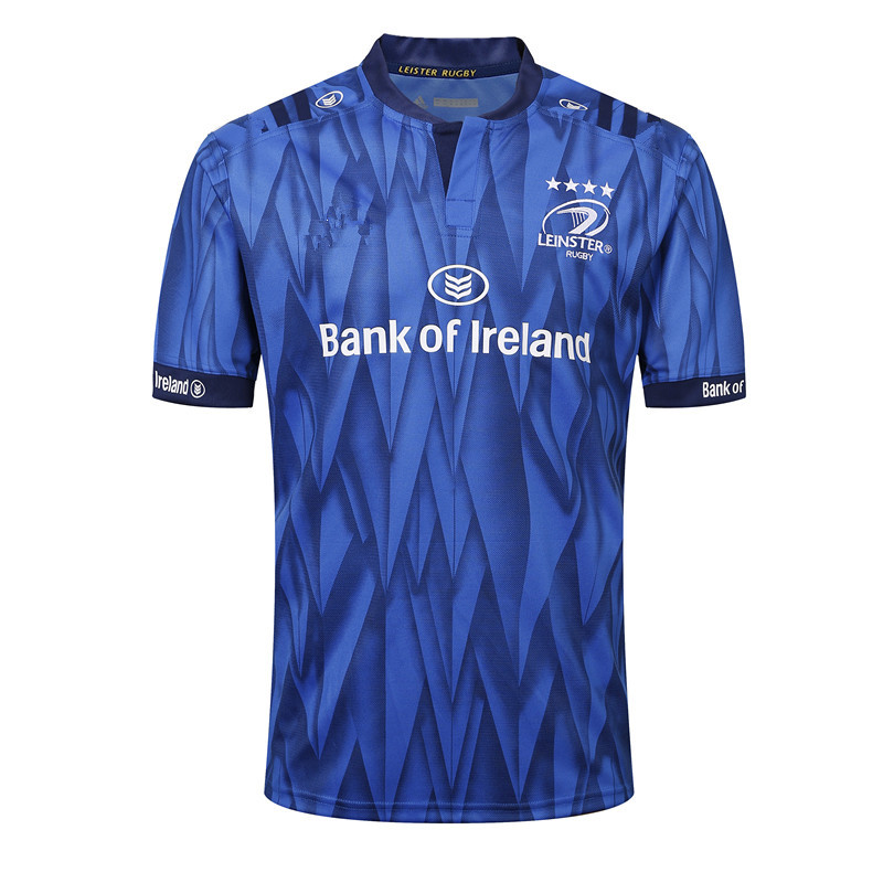 18-19 Leinster Home Olive Jersey 18-19 Leinster Home Rugby Jersey