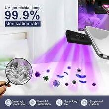 الأشعة فوق البنفسجية معقم ضوء المحمولة الشخصية السفر الأشعة فوق البنفسجية المطهر عصا فرشاة الأسنان الأنظف مكافحة الفيروسات الأشعة فوق البنفسجية ضوء تستخدم آيفون الهاتف الخليوي
