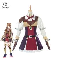 ROLECOS Anime Tate no Yuusha no Nariagari Cosplay Costumes Raphtalia Costume for Women Cosplay Costume Full Sets
