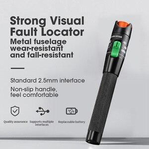 Image 2 - Localizador Visual de fallos láser de 30MW/20MW/10MW/5KM, probador de Cable de fibra óptica, rango de 10 30Km, VFL AUA 30