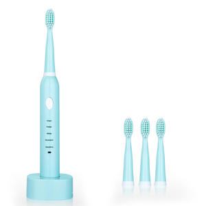 Electric Toothbrush Sonic 4x-Brush-Heads Oral-Hygiene Usb Rechargeable with Health-Products