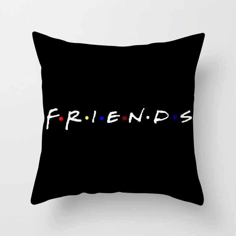 ZENGIA الأصدقاء TV Show غطاء الوسادة 45x45 سنتيمتر البوليستر أصدقاء وسادة غطاء 30x50 سنتيمتر جوي Tribbiani رمي كيس وسادة ديكور المنزل