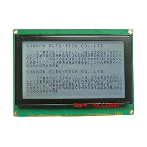 Image 2 - 5.1 polegada 240x128 ponto gráfico lcm 21 p 22pin 8080 interface paralela ra6963 controlador azul amarelo ou cinza fstn 240128 display lcd