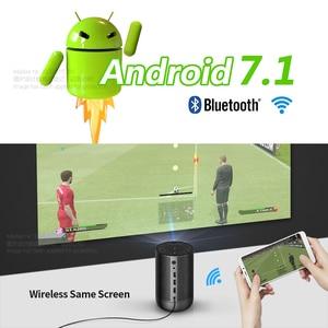 Image 2 - AUNโปรเจคเตอร์DLP 1080P Full HDความละเอียดพื้นเมืองAndroid 7.1 5G WIFI 8000MAhแบตเตอรี่3D Mini 4Kโปรเจคเตอร์โฮมเธียเตอร์แบบพกพา