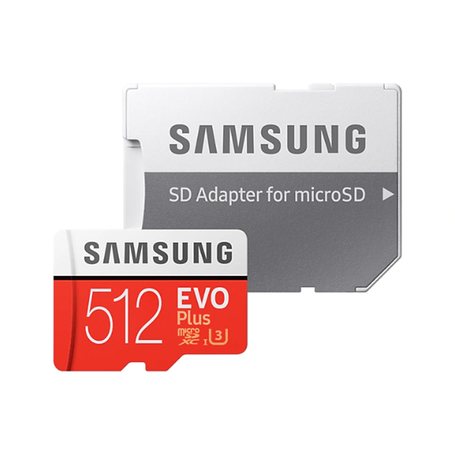 SAMSUNG Micro SD 512G Memory Card 256GB 128GB 64GB 100MB/s SDXC C10 U3 UHS-I MicroSD TF Flash Card 32GB for Smartphone /Tablet
