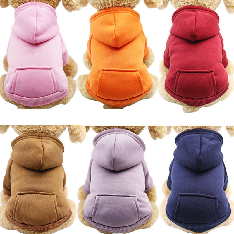 Pet Dog Clothes For Small Dogs Clothing Warm Clothing for Dogs Coat Puppy Outfit Pet Clothes for Large Dog Hoodies Chihuahua