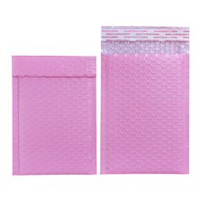 50PCS Light Pink Poly Bubble Mailer Padded Envelope self seal mailing bag bubble envelope Courier Packaging Shipping envelopes white bubble protection waterproof buffer anti fall pe packaging bag kraft paper logistics courier package envelope poly mailer