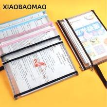 A6 a5 a4 простой прозрачный сетка Карандаш Чехол Сумка для документов