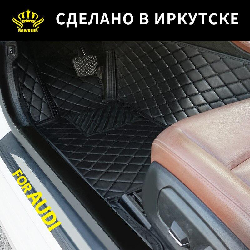 Carbon Tailored 2001-2007 Car Mats B6 B7 Audi A4 // A4 Avant Car Mats RHD