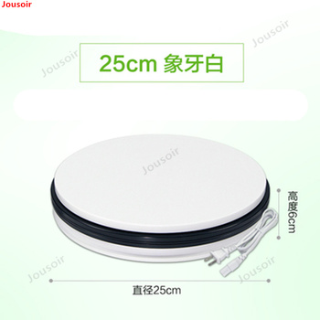 25cm electric rotating display stand photography turntable video model 360 degree panoramic shooting CD50 T03