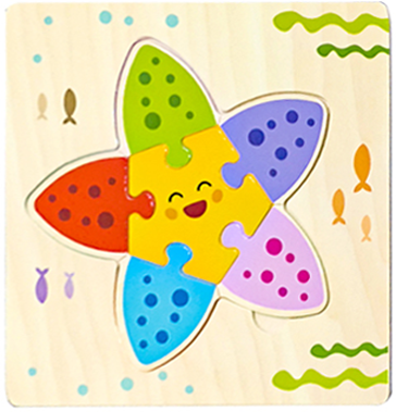 Baby Toys Wooden 3d Puzzle Tangram Shapes Learning Cartoon Animal Intelligence Jigsaw Puzzle Toys For Children Educational 10