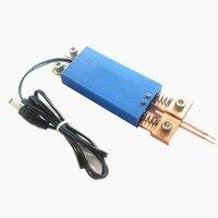Zintegrowany ręczny zgrzewanie punktowe pióro automatyczny wyzwalacz wbudowany przełącznik obsługa jedną ręką zgrzewarka punktowa spawarka w Zgrzewarki punktowe od Narzędzia na