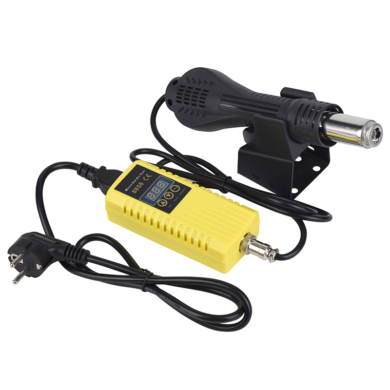 8858 Iron Gun Welding Soldering 750W Air Soldering Heat JCD Digital Gun Station Tools Stand Hot For 220V Desoldering Display