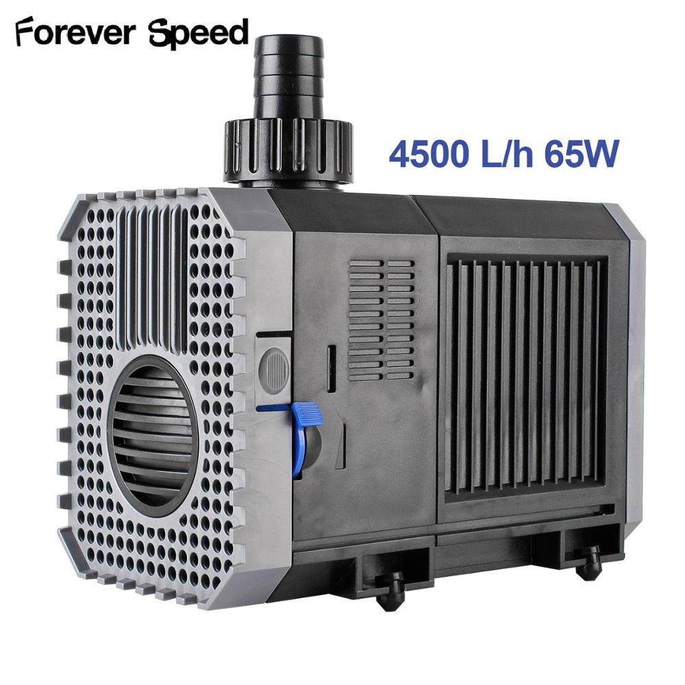 Pompe submersible pour aquarium Eco poissons étang pompe à eau CHJ-4500 4500l/h 65W pompes Forever Speed
