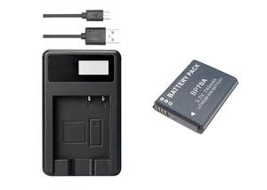 BP-70A EA-BP70A IA-BP70A BP70A IABP70A Battery+USB Charger for SAMSUNG PL80,PL90,PL100,PL101,PL120,PL170,PL200,PL201 DV180F ES90(China)