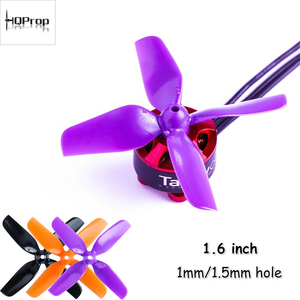 Image 1 - 12pairs HQ 40mm 1.6inch 4blades Propeller for Indoor Micro Drone 0802/1104 1/1.5mm Motors