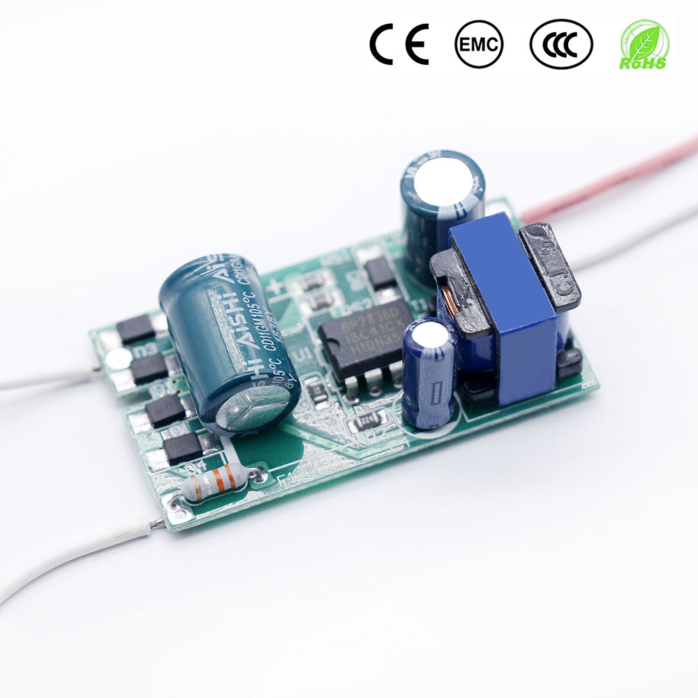LED Driver 18W-36W <font><b>Power</b></font> <font><b>Supply</b></font> Constant Current 270-300mA Automatic Voltage Control Lighting Transformers For LED Lights DIY image