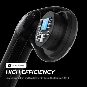 SOUNDPEATS TrueAir2 Wireless Earbuds Bluetooth V5.2 Headset QCC3040 aptX 4 Mic CVC Noise Cancellation TWS+ Wireless Earphones 2