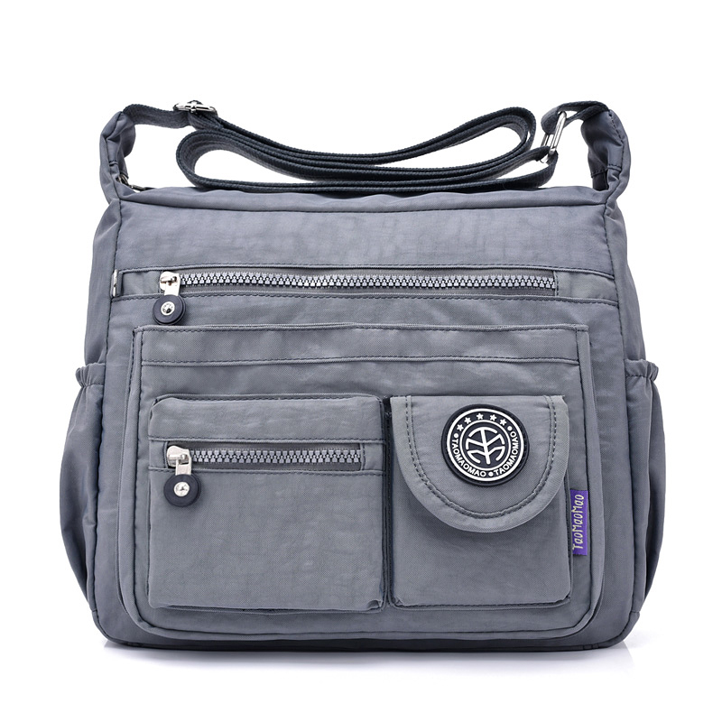 New Arrive Brand Taomaomao Fashion Casual Waterproof Nylon Shoulder Messenger Bag