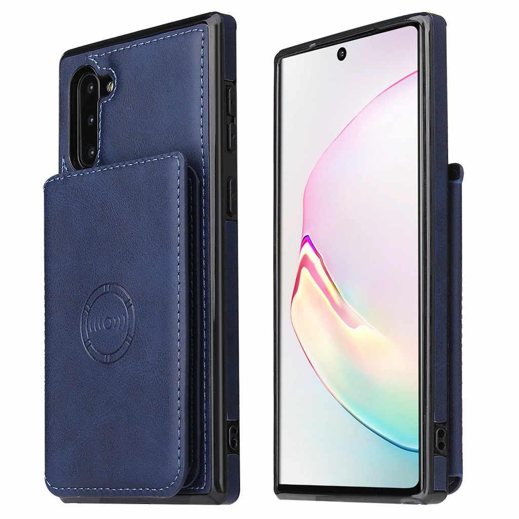 Per Samsung Galaxy Note 10 Auto Da 6.3 Pollici Magnetica Cassa Del Telefono Del Supporto Del Telefono Mobile Custodie e Coperture posteriore Del Telefono caso