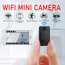 Bezprzewodowa mini kamera inteligentna kamera z wifi IP Hotspot HD noktowizor wideo mikro mała kamera IP wykrywanie ruchu Vlog Espia