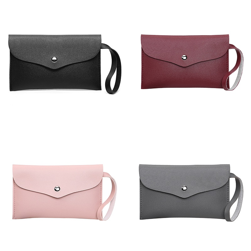 2020 New Women's Hot Sales Wallets Bag Coin Purse Napa Pattern Solid Color Casual Girls Fashion Students Ladies Simple Hand Bags