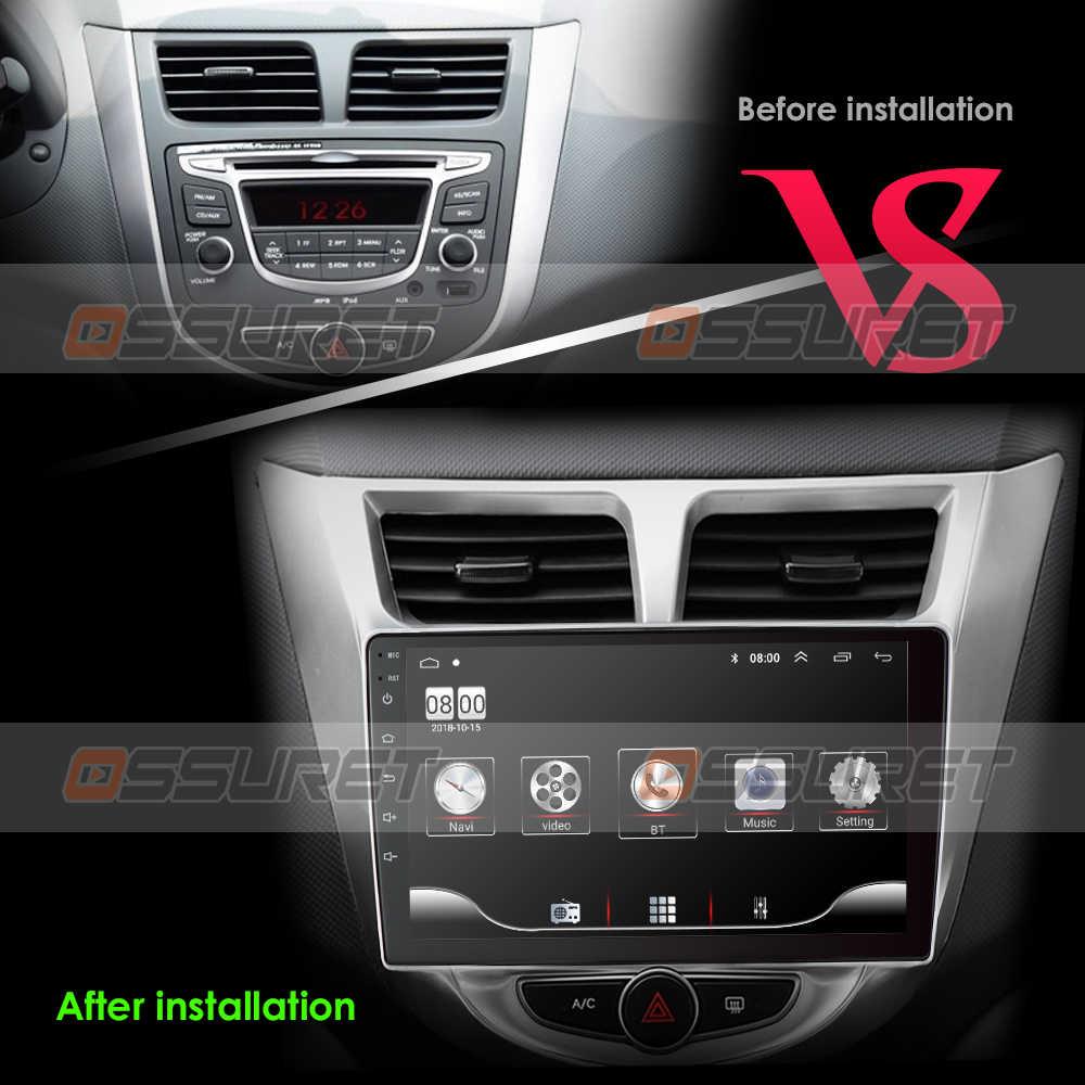 Dành Cho Xe Hyundai Solaris Giọng Verna I25 Dvd Trên Ô Tô IPS Android Có Định Vị Gps Dẫn Đường Radio Video Âm Thanh Xe Đa Phương Tiện