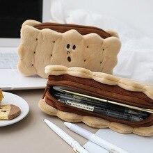 Biscuit pencil case bread trousse scolaire stylo Kawaii estuches school supplies estojo escolar pencil box pencilcase stationery