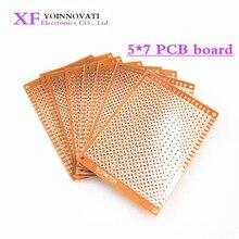 Universal Circuit-Board Matrix Experiment Prototype-Paper Copper Pcb 10pcs 5x7cm 5--7cm