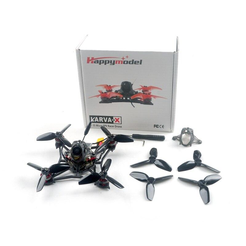 Happymodel Larva X 100 мм Crazybee F4 PRO V3.0 2-3S 2,5 дюймов FPV гоночный Дрон BNF W/ Runcam Nano2 камера