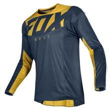 2020 MTB jersey DH motocross jersey Off Road Mountain Bike downhill Jersey MX BMX cycling jersey hpit fox jersey fxr mtb racing