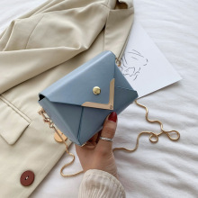 2018 New Korean Version Of The Wild Messenger Bag Fashion Solid Color Girl Small Square Simple Shoulder