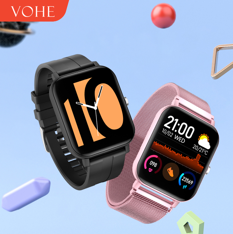 VOHE 2020 Smart Watch Waterproof Men Women Smartwatch Band Sport Fitness Bracelet Heart Rate Monitor For xiaomi android ios(China)