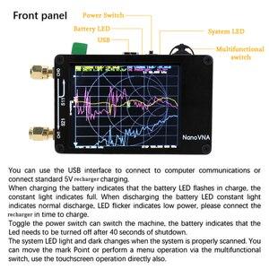 Image 2 - جهاز محلل هوائي شبكة من NanoVNA لموجات الراديو القصيرة MF HF VHF UHF