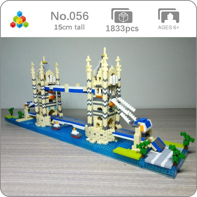 YZ Architecture 067 Moscow Red Square DIY Mini Diamond Building Nano Blocks Toy