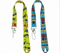 60 pcs Cartoon Japanese anime Neck Lanyard ID Badge Holders Mobile Neck Keychains For Party Gift WE 37