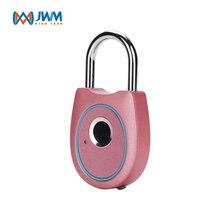 JWM Отпечаток Пальца Замок Замок Keyless USB Аккумуляторная Замок Двери Быстрая Разблокировка для Рюкзак Велосипед Ящик