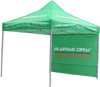 10X10 aluminum tent customized logos with backwall for birthday parties and outdoor party made in China Summer tents
