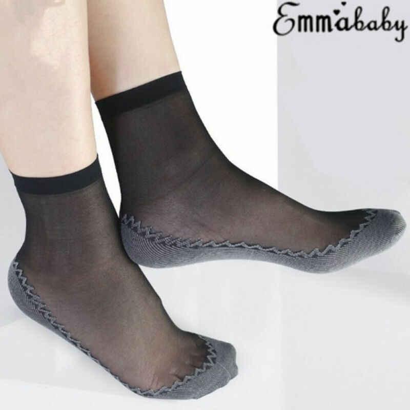 Neueste Mode frauen Ankle Transparent Socke Sexy Ultra-dünne Elastische Seidige Kurze Seide Heißer Verkauf